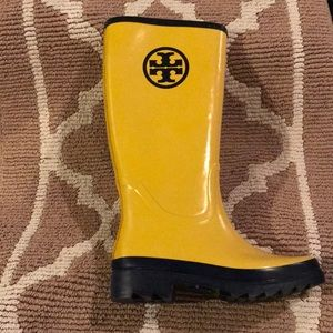 Brand new, never worn Tory Burch rain boots